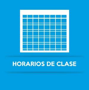 HORARIOS DE CLASE