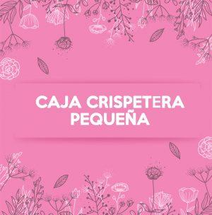 CAJA CRISPETERA PEQUEÑA BRILLANTE