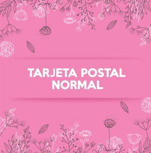 TARJETA POSTAL NORMAL