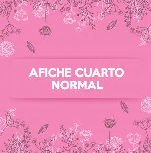 AFICHE CUARTO NORMAL