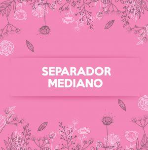 SEPARADOR MEDIANO BRILLANTE