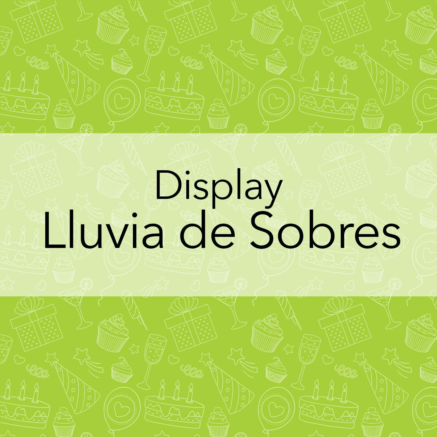 LLUVIA DE SOBRES