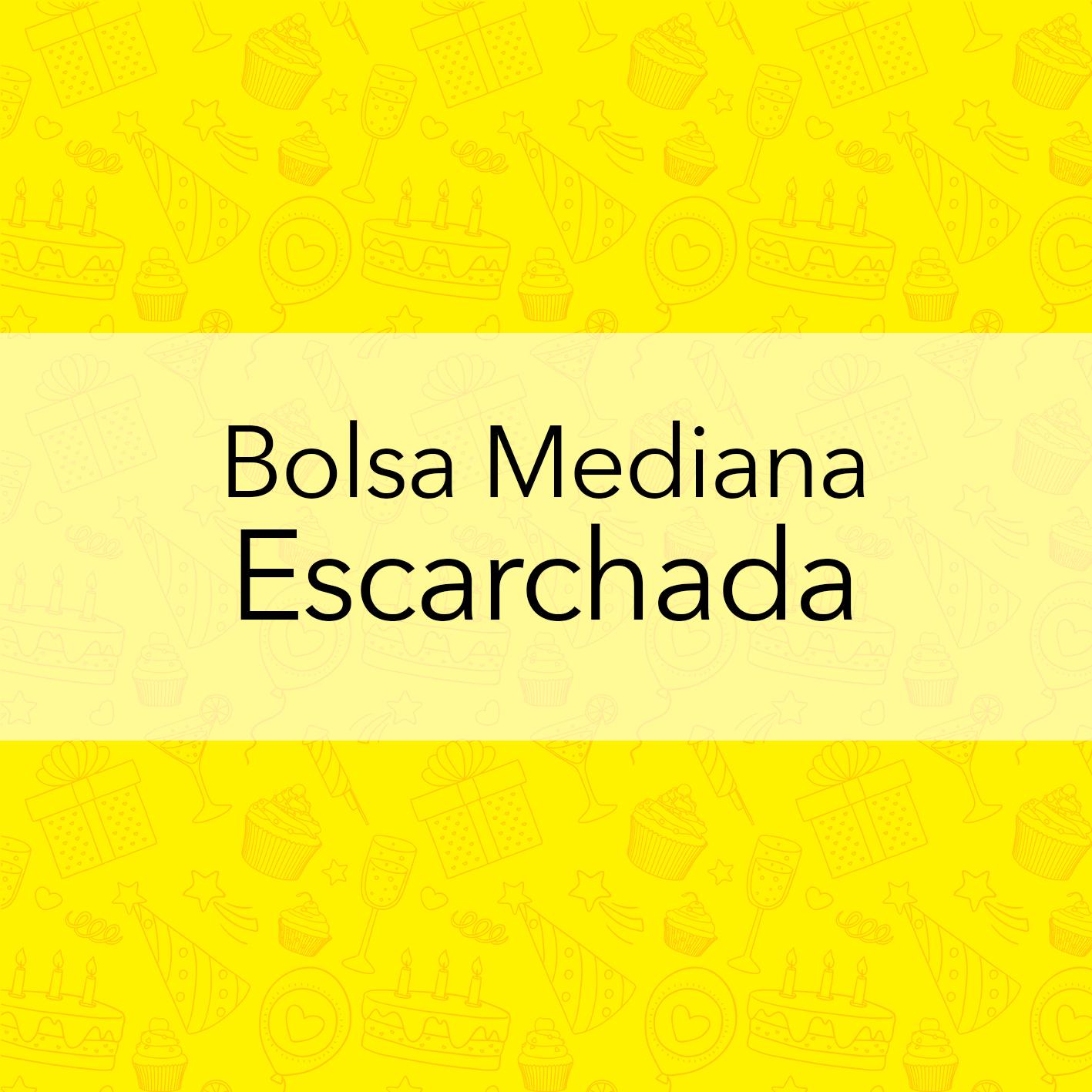 BOLSA MEDIANA ESCARCHADA