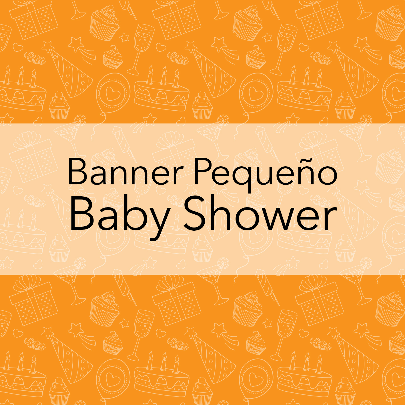 BANNERS PEQUEÑOS - BABY SHOWER