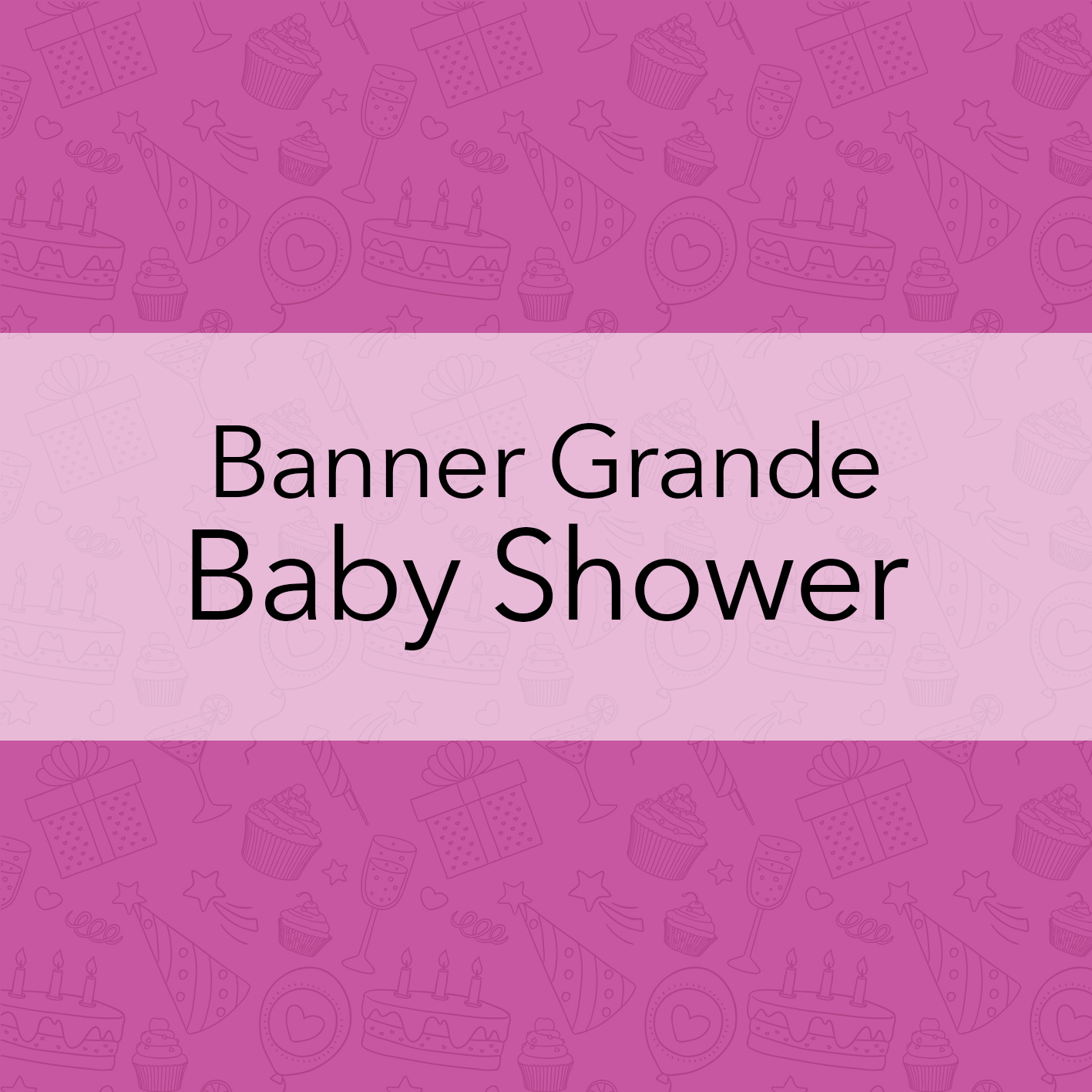 BANNERS GRANDES - BABY SHOWER