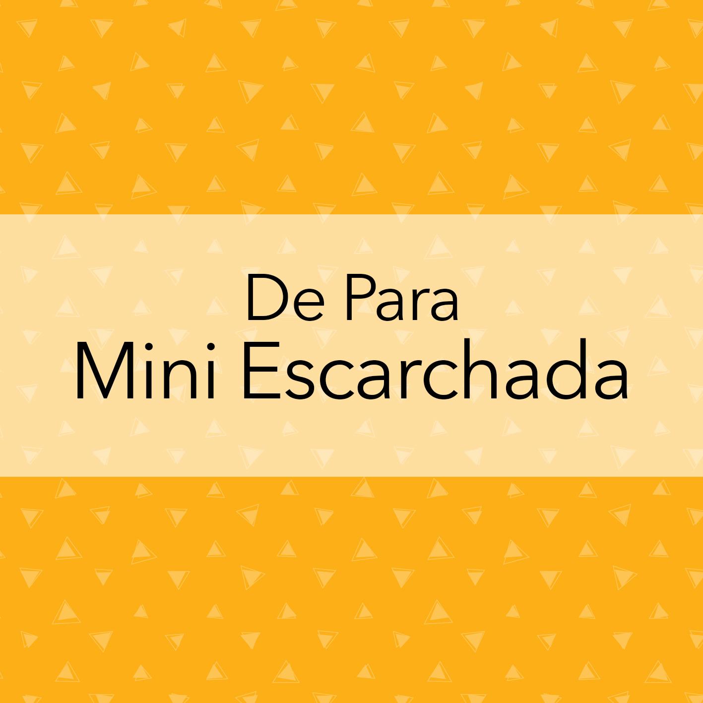 DE PARA MINI ESCARCHADA