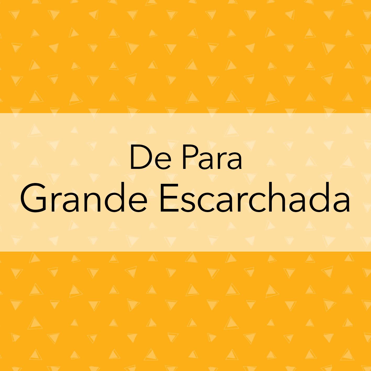 DE PARA GRANDE ESCARCHADA