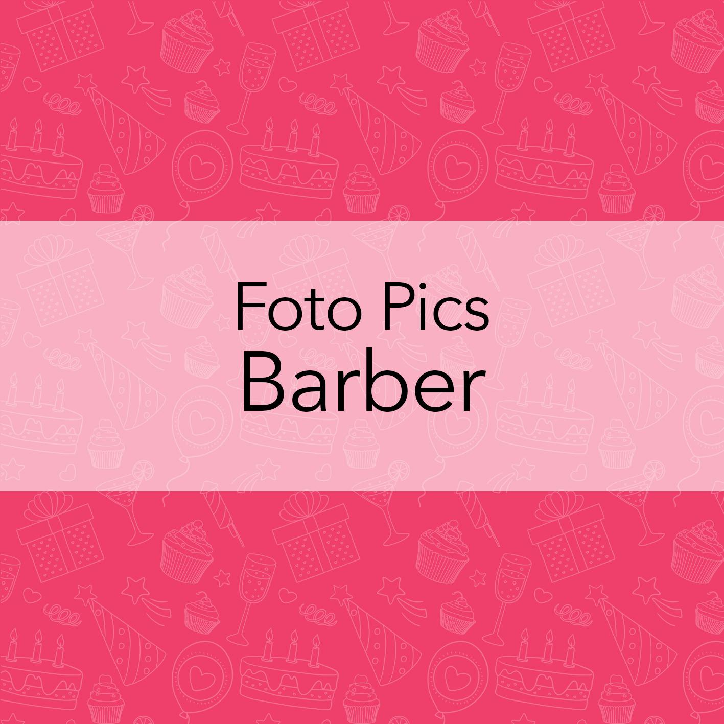 FOTO PICS BARBER