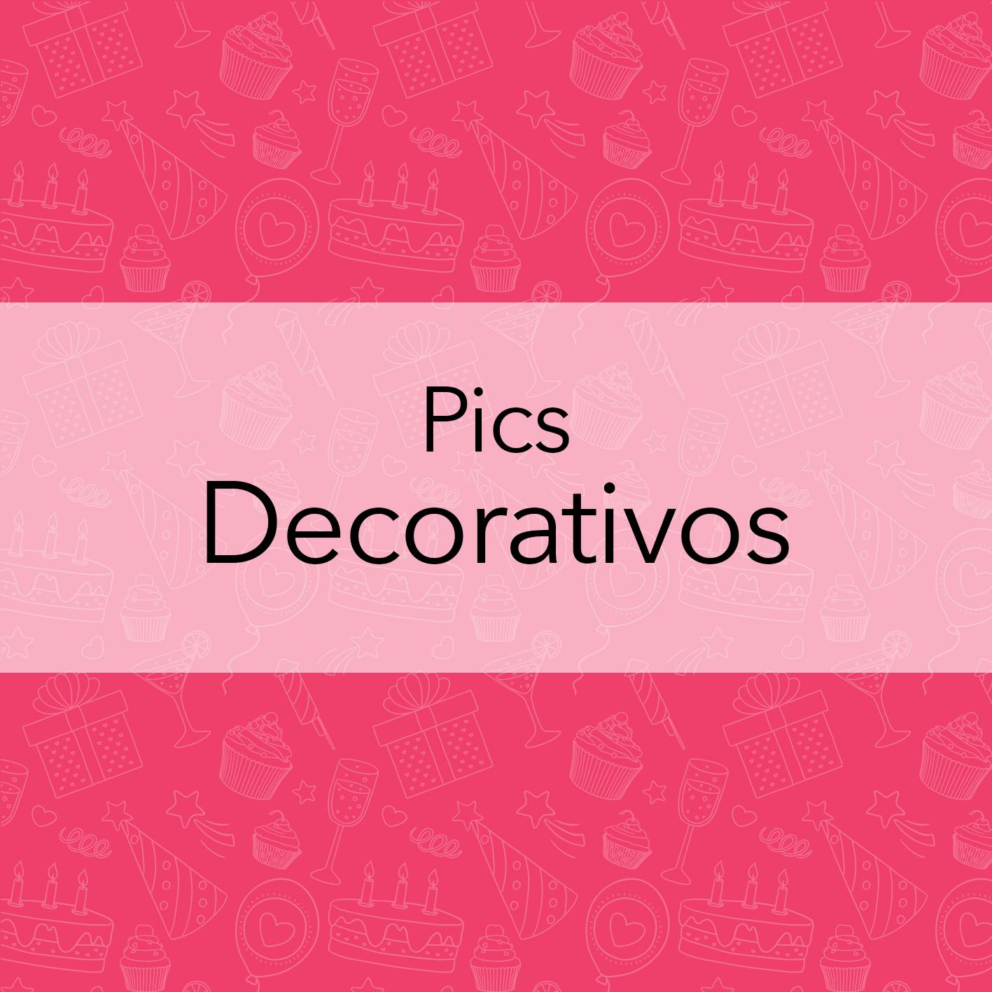 PICS DECORATIVOS