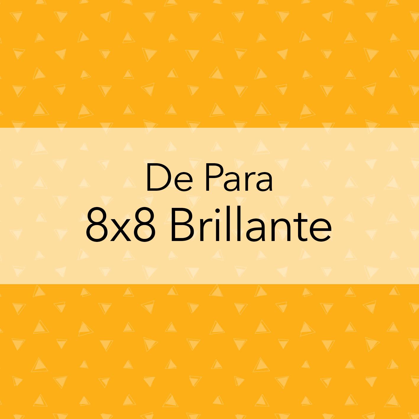 DE PARA 8X8 ESCARCHADO